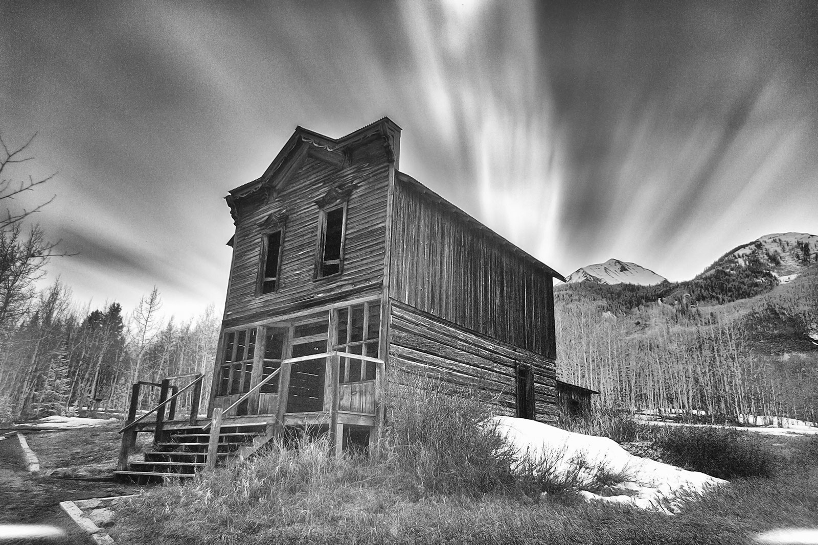 Ashcroft Ghost Town in Aspen, Colorado
